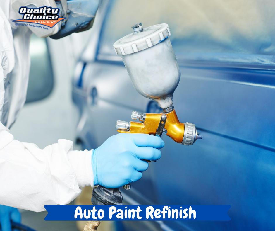 Auto Paint Refinish Surrey